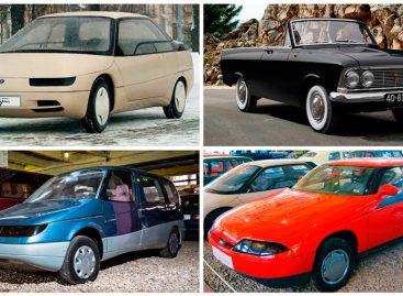 ТОП-5 автомобилей АЗЛК, которые так и не были запущены в серийное производство