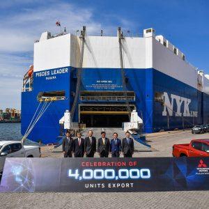 Mitsubishi Motors экспортировала более четырех миллионов автомобилей из Таиланда