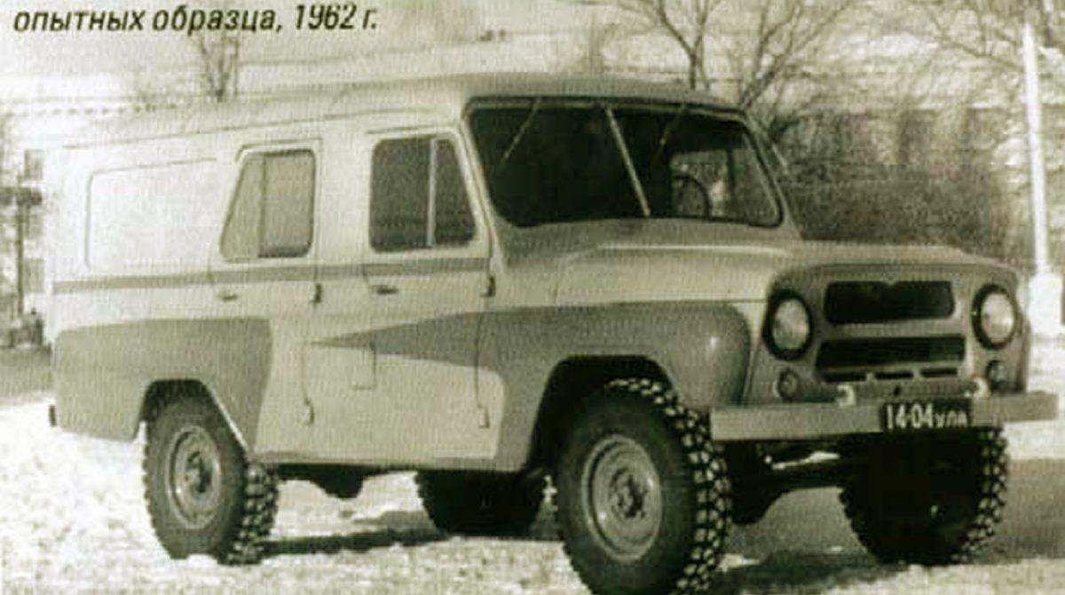 Забытый внедорожник УАЗ-469П так и остался всего в 2 экземплярах