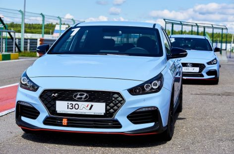 Hyundai i30 N проведет заезды на гоночной трассе в Москве