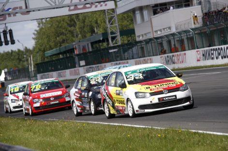 Гоночная команда B-Tuning участвует в 5 этапе серии кольцевых гонок в Мячково