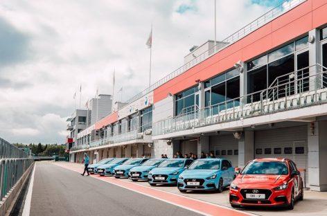 Масштабные тест-драйвы Hyundai i30 N на Moscow Raceway