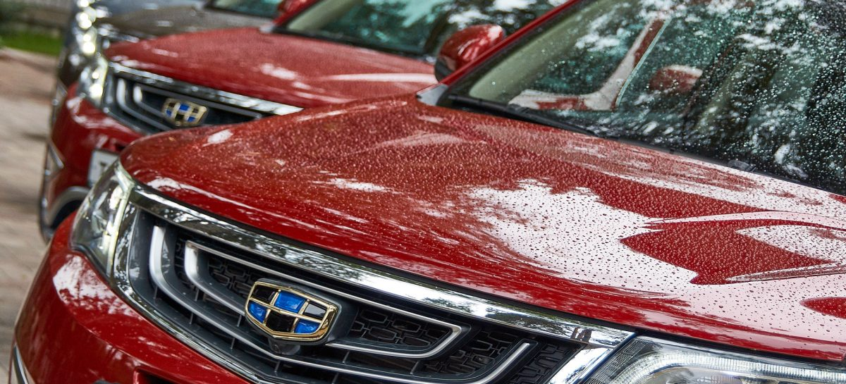 Geely Motors Россия повысит цены на автомобили