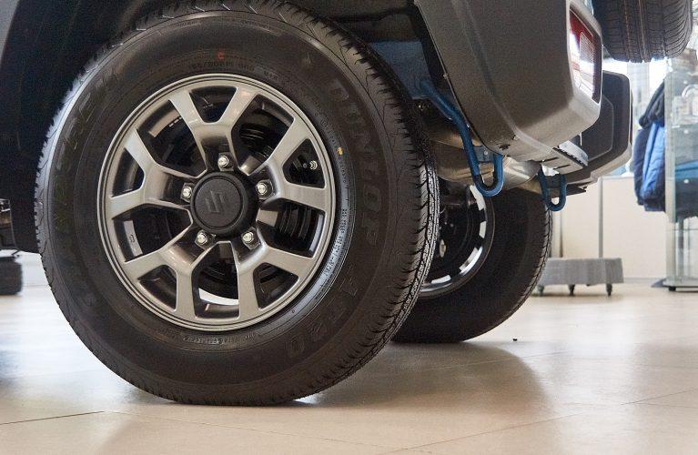 Suzuki Jimny 2019 угол съезда