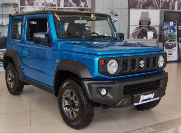 Новый Suzuki Jimny ставит рекорды: рост продаж – 694%
