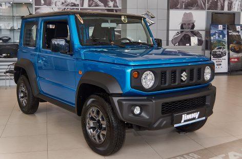 Suzuki Jimny получил награду OFF ROAD AWARD 2019