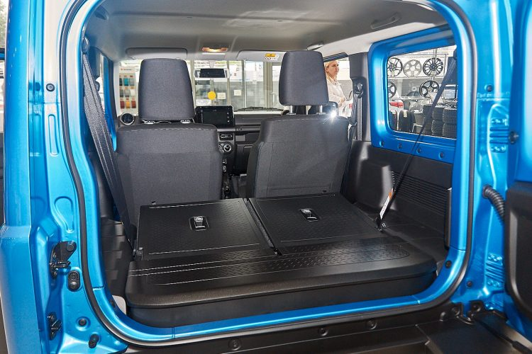 Suzuki Jimny 2019 багажник