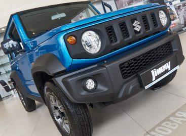 Продажи нового Suzuki Jimny в России стартовали