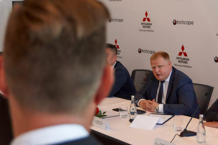 Открытие дилерского центра Mitsubishi Inchcape Москва июль 2019