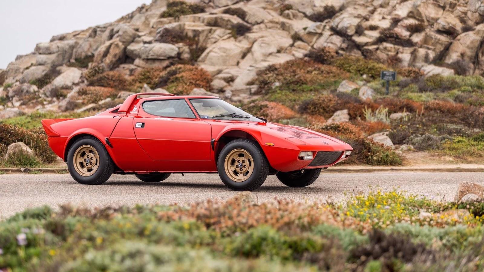 Lancia Stratos 1977 г