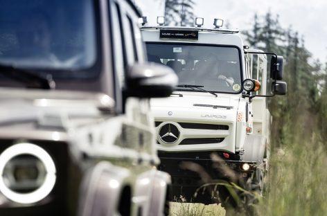 Unimog и G-Класс: встреча титанов бездорожья
