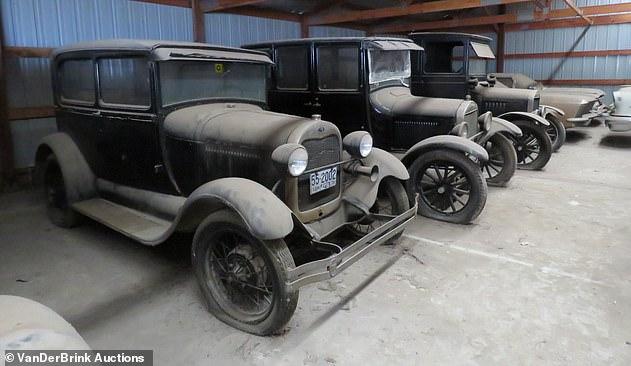 раритетные автомобили, старинные, старые,