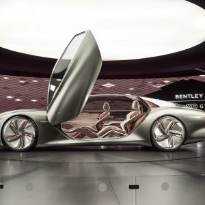 100 - летний юбилей Bentley Motors на фестивале Monterey Car Week