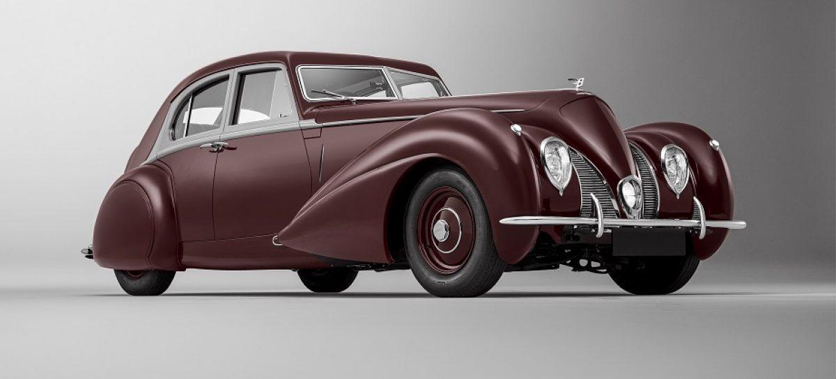 Mulliner восстанавливает культовый Bentley Corniche