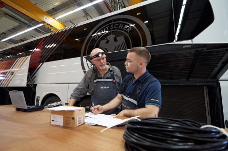 MAN Truck & Bus отмечает юбилей: 100 лет производства автобусов в Плауэне