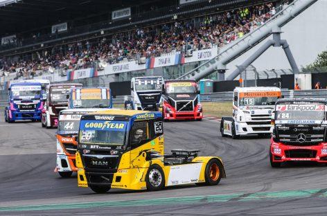 Goodyear готовится к новому этапу Чемпионата Европы по гонкам на грузовиках FIA