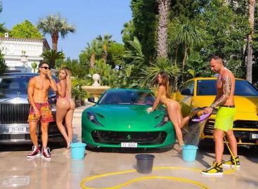 По мнению производителя Ferrari, фото известного модельера в Instagram порочат репутацию бренда