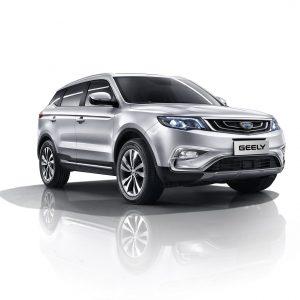 Geely Atlas — лидер по продажам в России среди китайских автомобилей