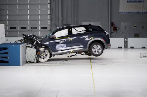 Водородный Hyundai NEXO получил награду Страхового института дорожной безопасности (IIHS)