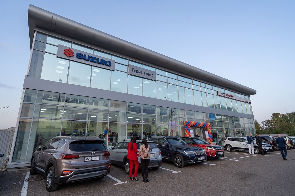 Дилерский центр в Казани Герман-Авто