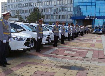 138 кроссоверов JAC S3 поступили на службу в казахстанскую полицию