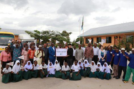 KIA Motors передала властям Танзании новую школу