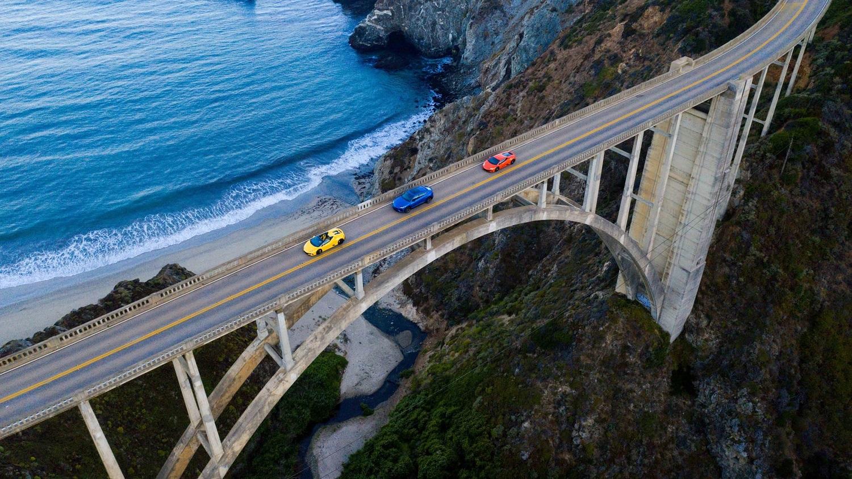 Lamborghini - Bixby Creek Bridge