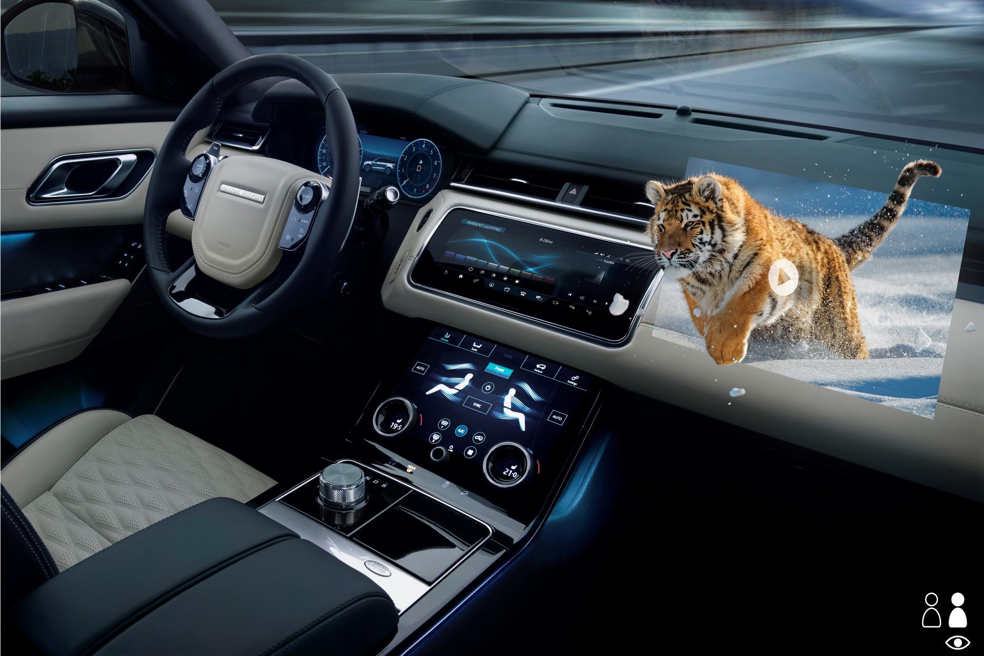 Jaguar Land Rover представил проекционный дисплей с поддержкой иммерсивных 3D-изображений