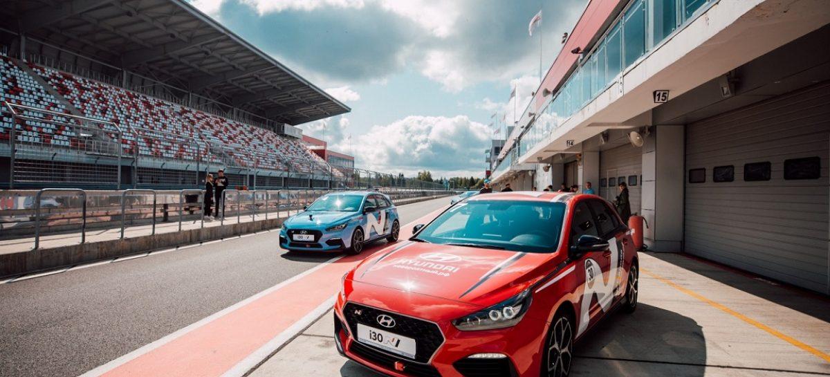Hyundai i30 N занял четвертое место на чемпионате Turbo Racing Cup
