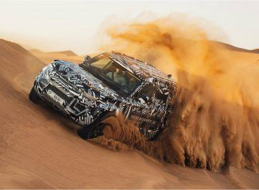 Новый Land Rover Defender прошел испытания в пустыне
