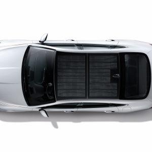 Hyundai Sonata Hybrid - первый автомобиль с зарядной системой из солнечных батарей