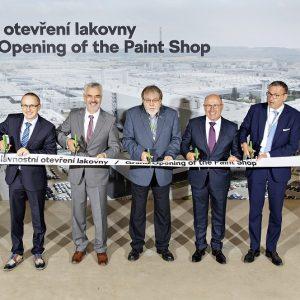 Škoda запустила самый технологически совершенный покрасочный цех в Европе