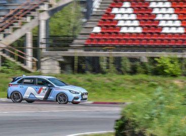 Hyundai i30 N занял четвертое место на гоночной трассе «Бикерниеки» в Риге