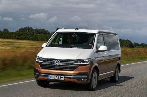 Обновленная версия кемпера Volkswagen California 6.1