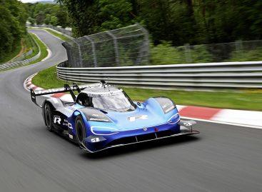 Электромобиль Volkswagen ID.R развил рекордную скорость, затратив минимум энергии