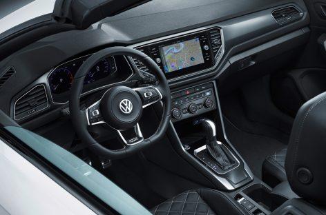 Новый кросс-кабриолет T-Roc от Volkswagen