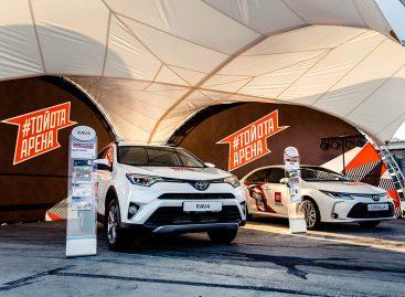 Соревнования «Арена Героев» начнутся в Санкт-Петербурге при поддержке Toyota
