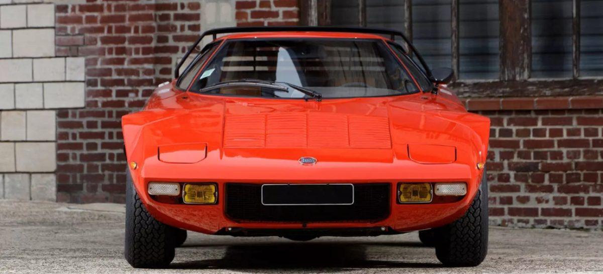 Girardo & Co продает раллийный автомобиль Lancia Stratos с мотором от Ferrari