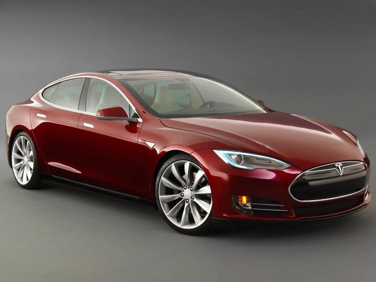 Tesla Model S электромобиль