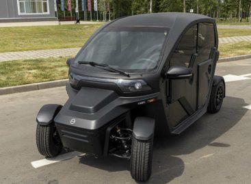 Электромобилю для каршеринга от Калашников хватает зарядки на 150 километров