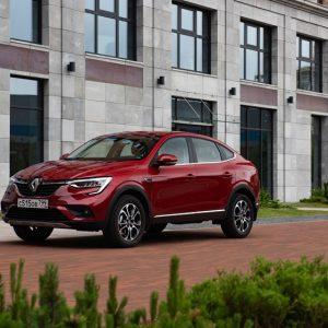 Начался экспорт нового купе – кроссовера Renault ARKANA в страны СНГ