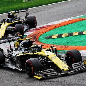 Лучший результат команды Renault F1 на Гран-при Италии