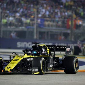Насыщенный событиями Гран-при в Сингапуре для команды RENAULT