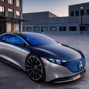 Большой электрический седан представительского класса от Mercedes-Benz