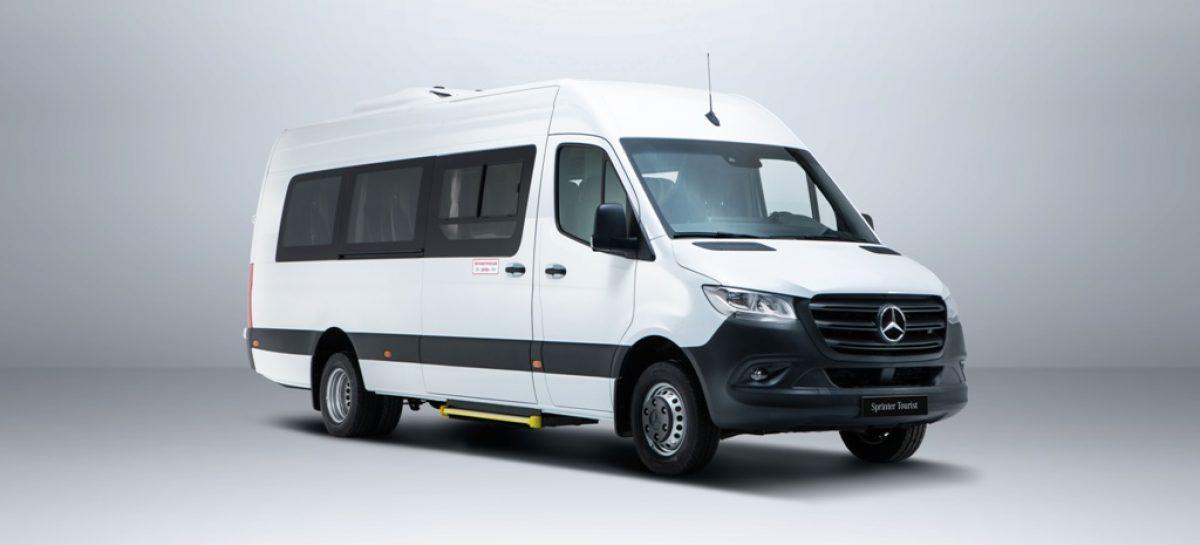 Mercedes открывает прием заказов на новые пассажирские версии Sprinter