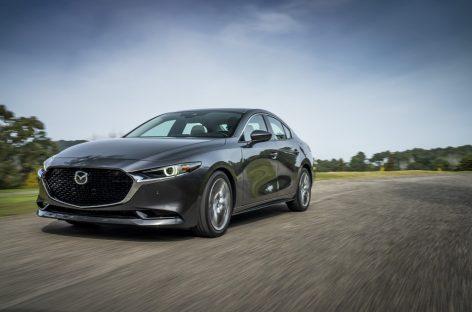 Первый представитель седьмого поколения автомобилей Mazda