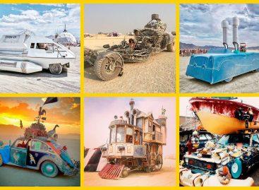 Ожившие фантазии в пустыне Блэк-Рок