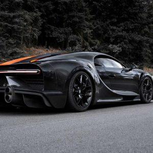Bugatti Chiron получил имя и встал на конвейер