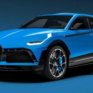 Самый дорогой в мире кроссовер от компании Bugatti