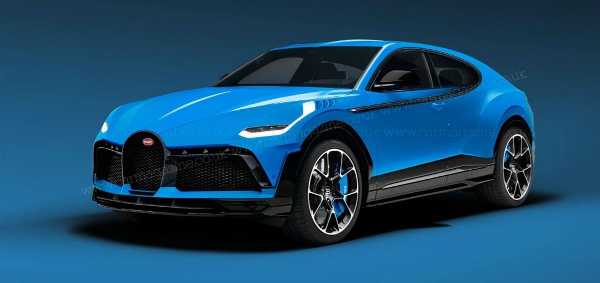 Bugatti crosover